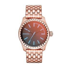 Reloj Diesel Para Mujer Color Rose Dorado