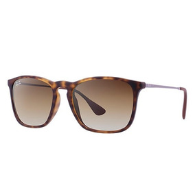Lindo Ray Ban Rb4187 Chris Marrom L. Marrom Degrade - Óculos no ... 813a0c339a