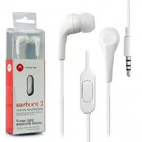Fone De Ouvido Earbuds 2 Motorola Br Novo/original