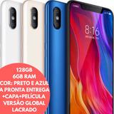 Xiaomi Mi 8, 128g 6g Ram Global,2capas+peli. Envio Hoje17/01
