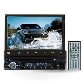 Dvd Retratil Bluettoth - Tv Digital -usb - Sd Tela De 7.0