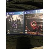 Paquete De Juegos Resident Evil 6 Y Revelations 2
