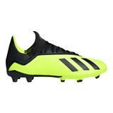 Zapatillas adidas X 18.3 Chimpunes Fg Para Niño Tallas 28-38 8d91b23544284
