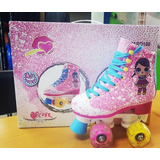 Patins Retro Lol Com Rodas Leds 28 Ao 38