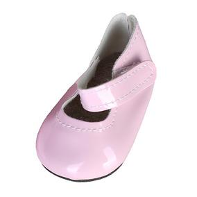 5e9f0c81b36 Muñecas Zapatos Adhesivos Planos Para 18   American Girl Do