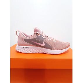 quality design 06443 a61cb Tênis Nike Legend React Feminino Corrida Original Rosa N. 38
