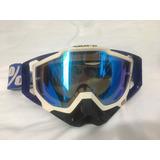 Óculos 100% Racecraft Azul Lente Espelhada (ñ Accuri Strata)