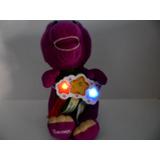 Peluche De Barney Con Luz Y Sonido + Peluche Baby Bop