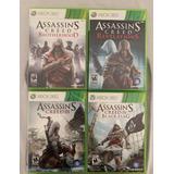 Pack 4 Juegos Assassins Creed