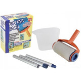Pintar Facil Kit Pintura Para Pintar Parede Rolo Casa Facil