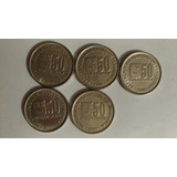 Monedas 50 Del Año 2000