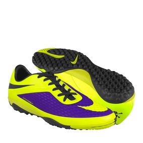 Tenis De Fútbol Nike Simipiel Amarillo 555615570