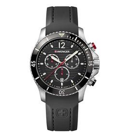Relógio Suíço Wenger Seaforce Cronógrafo 01.0643.108 C/ Nf