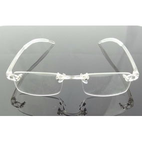 bdb017aeb6eda Armaçao Oculos Sem Aro Transparente - Óculos no Mercado Livre Brasil