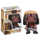 Figura Funko Pop The Walking Dead Michonne Zombies Katana