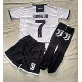 Kit Juve Cristiano Ronaldo Infantil Super Promoção