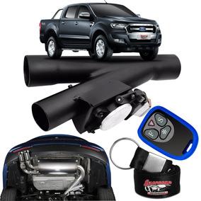 Difusor De Escapamento Esportivo Preto Fosco - Ford Ranger