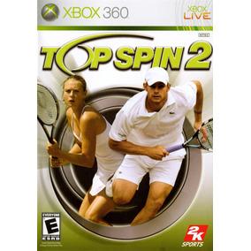 Top Spin 2 Xbox 360 Original Mídia Física Frete $14
