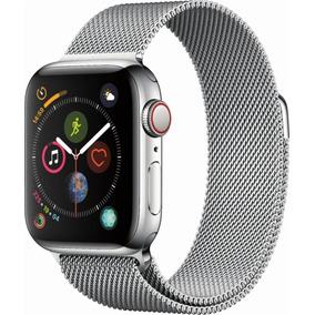 Apple Watch Series 4 44mm Gps + Celular Inoxidable Milanesa
