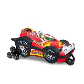 Mochila Infantil Masculina Maxtoy Fórmula1 3d Com Lancheira
