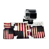 Stickers Ee.uu. Bandera Americana Pegatina Accesorio Gopro