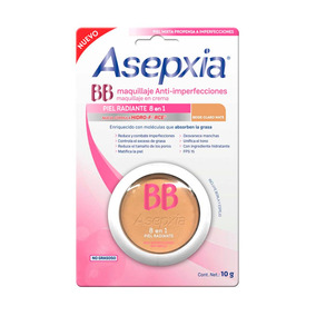 Maquillaje Asepxia Crema Fps 15 Beige Claro 10g Genomma Lab