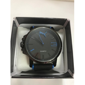 Reloj Puma Ultrasize Black. C. Detalles Azul ba41b881f70f
