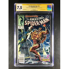 Amazing Spider-man 293 Cgc Autografado Por Mike Zeck +2