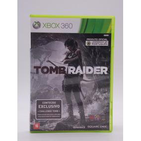 Tomb Raider Xbox 360 Original Mídia Física