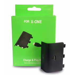 Kit One 2 Carregadores + 2 Baterias Para Xbox One + Cabo Usb