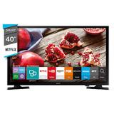 Smart Tv 40 Fhd Hdmi Usb Samsung Un40j5200 Novogar