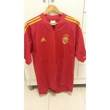 Camisa Espanha Oficial Vermelha 2004