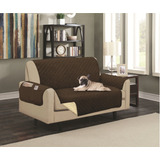 Couch Cover Protector De Sofá Reversible E Hipoalergénico