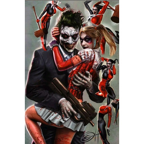 Poster Sideshow Dc Joker Autografado Por Greg Horn