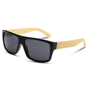 Óculos De Sol Espelhado Com As Pernas De Bambu Estilo Top. 2 cores. R  100  49 6f8c48b14a