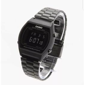 Reloj Casio Vintage Negro Matte B640w Envio Gratis