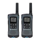 Kit De 2 Radios Comunicacion Motorola Dos Vías 40 Km Oferta