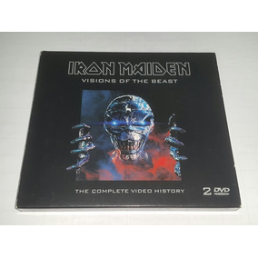 Iron Maiden Visions Of The Beast Promo Dvd Cd Duplo Raro