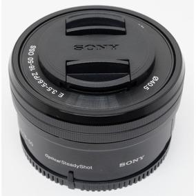 Lente Sony 16 50mm F/3.5-5.6 Do Kit Da Alpha 6000 - Sem_uso
