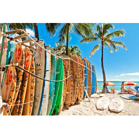 461c4ea189fdb Adesivo Aloha Hawaii - Artesanato no Mercado Livre Brasil