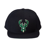 Milwaukee Los Bucks Nba Mitchell & Ness Equipo Logo Sombrero