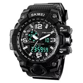 Skmei Reloj Digital Dual Time Deportivo Militar Para Hombre