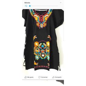 b895455611 Vestido Mexicano Modelo San Antonio Mujer - Vestidos en Mercado ...