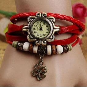 10 Piezas Reloj Vintage Retro De Moda Dama Precio De Mayoreo