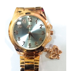 a4730e622de Pingente Fue Dourado - Relógios De Pulso no Mercado Livre Brasil