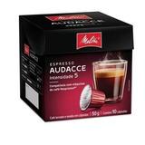 Cápsulas Café Mellita Audacce Nespresso - Kit 10 Unids