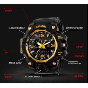 Relógios Pulso Masculino Skmei S-shock Digital Fret Grátis