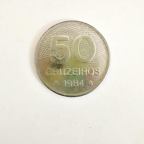 Moeda 50 Cruzeiros 1984