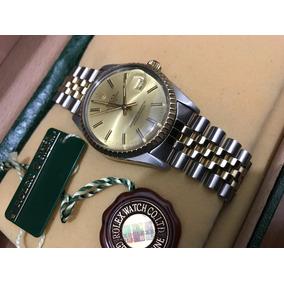 Rolex Date Acero Oro Jubilee 15053 Cambio Rapido Estuche Sub