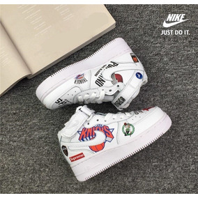 Tenis Nike Air Force 1 Nba X Supreme Hombre a486ed99db1